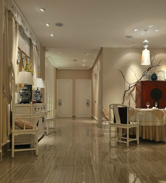 北京津轩阁装修设计_特色餐厅装修效果图
