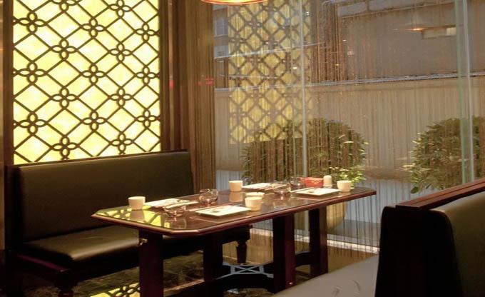 广州会宾园装修设计_特色餐厅装修效果图_广州金思维
