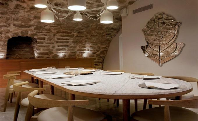 天津东一厅时尚餐厅_欧式风格咖啡厅装修效果图_广州