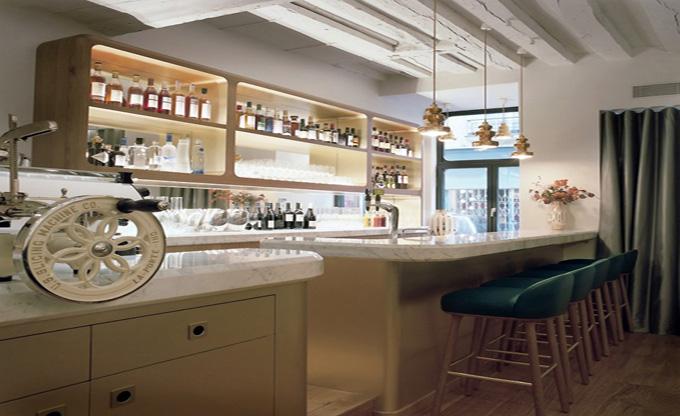 天津东一厅时尚餐厅_欧式风格咖啡厅装修效果图