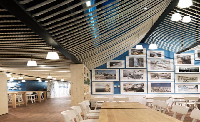 岳阳爱侬咖啡厅装修设计_田园风格咖啡厅装修效果图