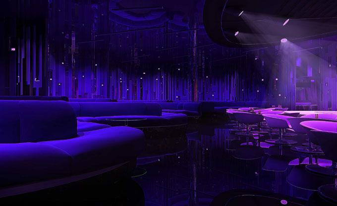 金思维装饰 酒吧ktv装修效果图 餐厅酒吧装修效果图  设计师:李旭龙