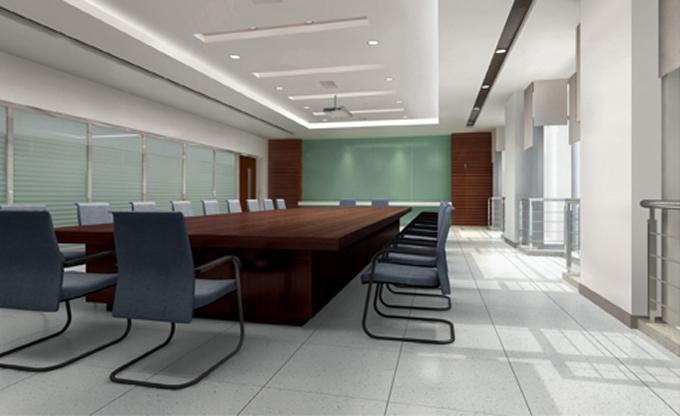 高端商务办公室装修效果图
