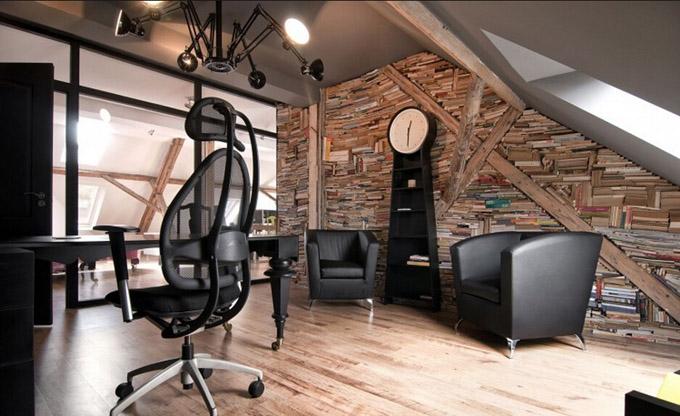 办公室装修设计效果图 现代简约风格办公室装修效果图  设计师:刘法雄