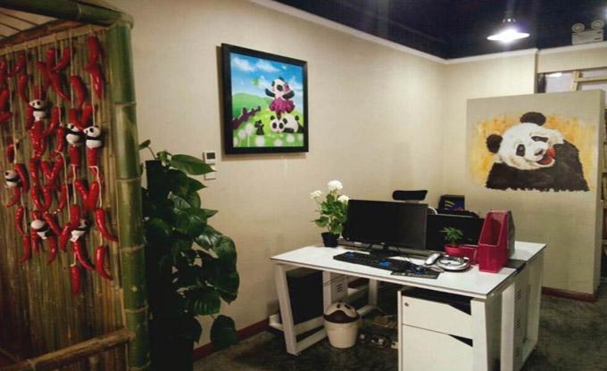 金思维装饰 办公室装修设计效果图 时尚创意办公室装修效果图  设计师图片