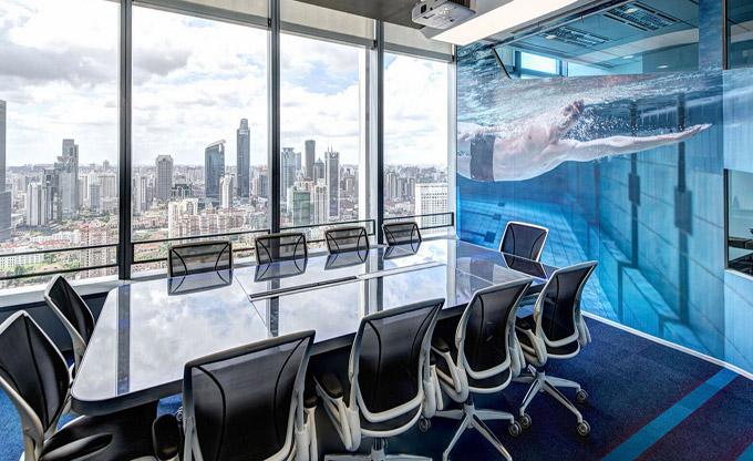 温州高端商务办公室装修_高端商务办公室装修效果图