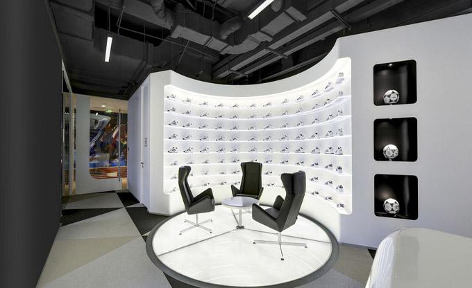 金思维装饰 办公室装修设计效果图 高端商务办公室装修效果图  设计师