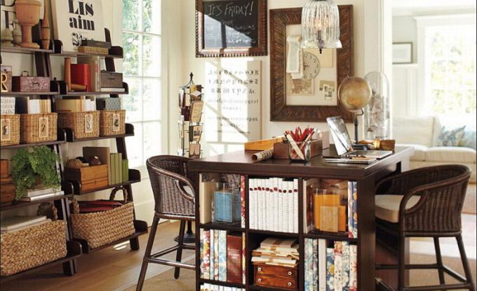 金思维装饰 办公室装修设计效果图 私人办公室装修效果图