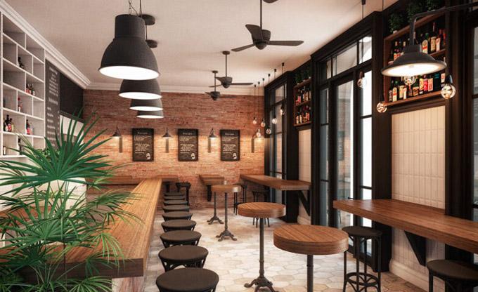 金思维装饰 酒吧ktv装修效果图 餐厅酒吧装修效果图