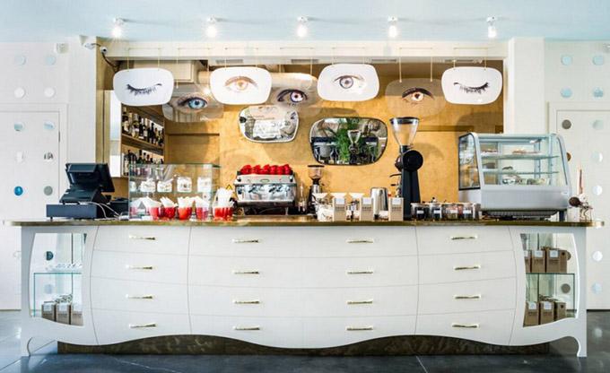 天津地中海式咖啡厅装修