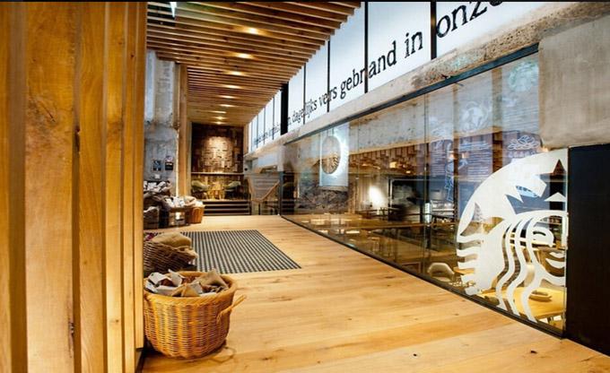 西安地中海式咖啡厅装修