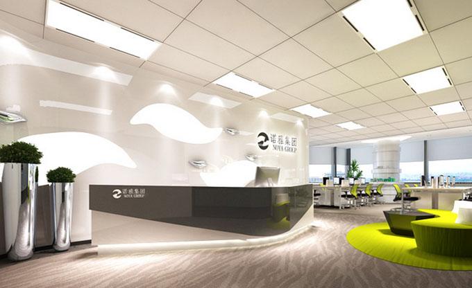 项目类别:广州办公室设计 项目名称:香港诺雅集团股份有限公司 项目地址:广州市 项目面积:535平方米 项目理念:诺雅集团的行业的形式为原点,进行剖析、解构、重组与延伸,生成前卫独特、富含张力的空间形态,人们穿行其中,去体验空间的丰富性与趣味性,消除空间的严峻感与单一性,让空间体现企业的文化特性,并激发大家在工作上挖掘更多创意的灵感与无限可能性。空间色调以素雅简洁的黑白灰作为空间的主调,让整个空间的色调高度统一,搭配局部艳丽的色调作为点睛之笔,以丰富空间的视觉感受。在空间上采用不规则的折面形式,体现诺雅集