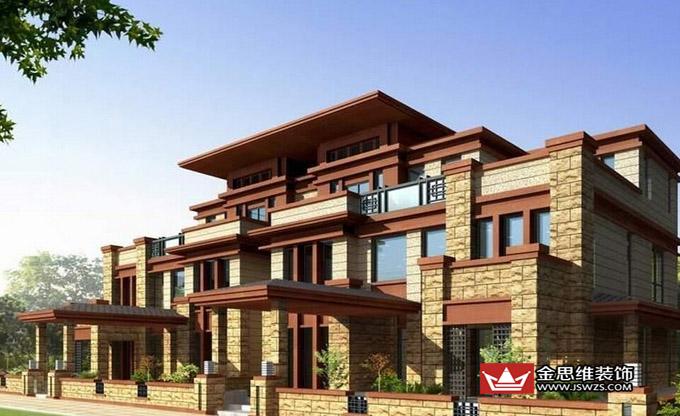 一些品质较高的经济型别墅陆续出现