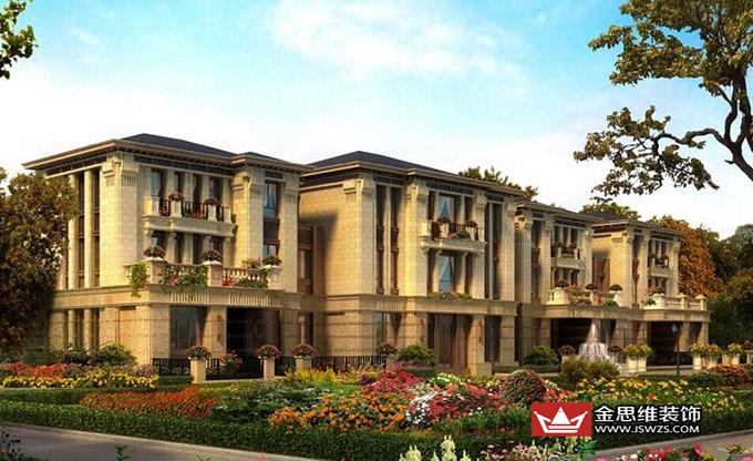 独栋别墅 独栋别墅即独门独院,上有独立空间,下有私家花园领地,是私密性很强的独立式住宅,表现为上下左右前后都属于独立空间,一般房屋周围都有面积不等的绿地、院落。私密性强,市场价格教高,多定位为高端品质。  联排别墅 联排别墅又称TOWNHOUSE,它是由几幢小于三层的单户别墅并联组成的住宅形式,通常一排二至四个单元联结在一起,有统一的外力面设计和独立的门户。每户独门独院,除地下室外,还设有一至二个车位,单套面积一般在250平方米左右。  双拼别墅 双拼别墅是联排别墅与独栋别墅的中间产品,由两个单元的别墅