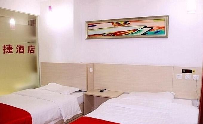 尚客优快捷酒店装修设计双人房间
