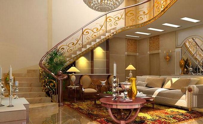 别墅室内装修-楼梯