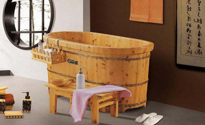 3米左右的木桶浴缸
