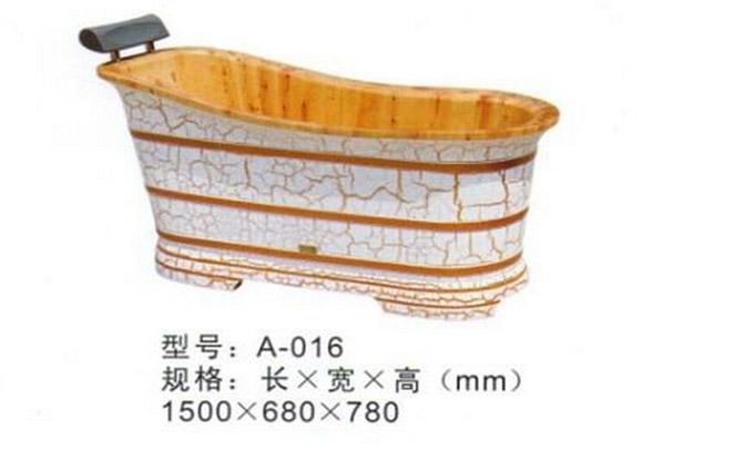 木桶浴缸尺寸家用木桶浴缸的价格