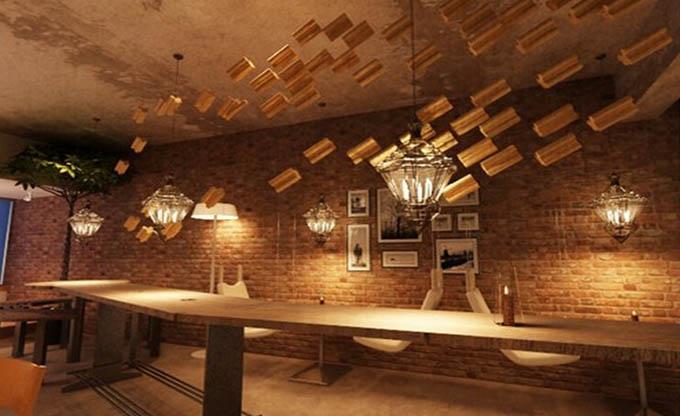 咖啡厅室内设计国内外的发展趋势图片