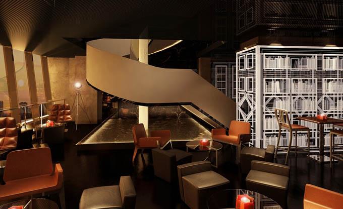 中式元素如何在咖啡厅中设计图片
