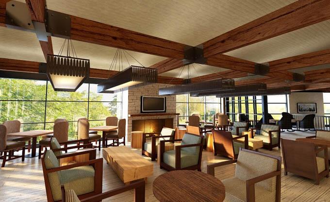 咖啡厅室内设计国内外的发展趋势