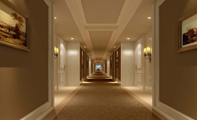 酒店走廊装修设计方案