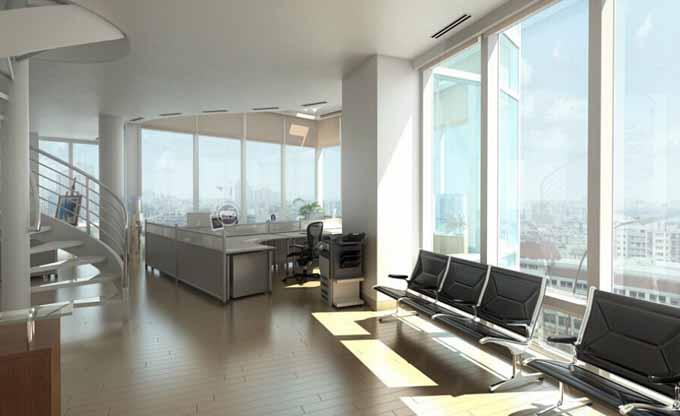 办公室装修中洽谈区设计精华,公司洽谈室装修设计要点