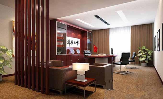 办公室是公司企业各阶层领导人与员工的办公场所,所以一定的办公室设计空间环境皆有可能影响到员工的生理和心理状态,那么对于经典的办公室究竟应该如何装修呢?下面就是有关经典办公室装修的技巧。  经典办公室装修除了安全、实用和美观以外,还得秉持个性化设计的理念,要充分为客户营造一个有企业特色、能让员工增强使命感与归属感的办公环境,在更大程度上提升该公司的企业形象,所以我们在设计中需很好地掌握经典办公室装修设计的三大技巧,一是设计要有秩序感。所谓的秩序其实所涉及的面也很广,比如办公室平面布置的规整性,隔断墙的高低尺