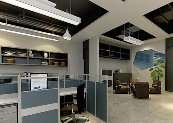 在办公室装修中办公室灯具设计是非常重要的一部分,但是我们该如何选择办公室的灯具呢?这是许多办公室装修设计师所疑虑的问题,接下来让我们和广州装修公司一起来看看办公室灯具如何选择?  一、办公室照明,宜采用荧光灯 房间内的装饰表现宜采用无光泽的装饰材料。办公室的一般照明宜设计在工作区的两侧,采用荧光灯时宜使灯具纵轴与水平视线平行。不宜将灯具布置在工作位置的正前方。  二、前台灯具照明 每个公司都有前台,这里是一个公共区域,不仅仅是简单的供人活动的区域,而且是展示企业形象的区域。 所以在设计考虑照明灯具提供充足