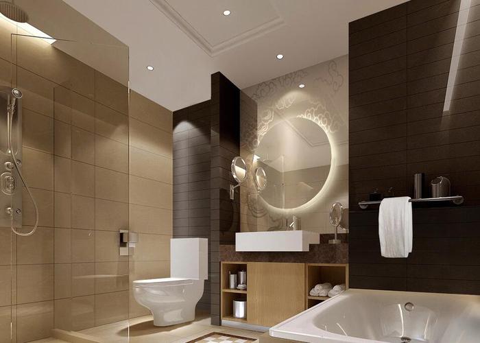 广州星级酒店装修设计公司金思维装饰—星级酒店卫生间装修设计需要