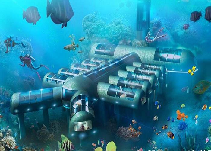 壁纸 海底 海底世界 海洋馆 水族馆 桌面 700_500