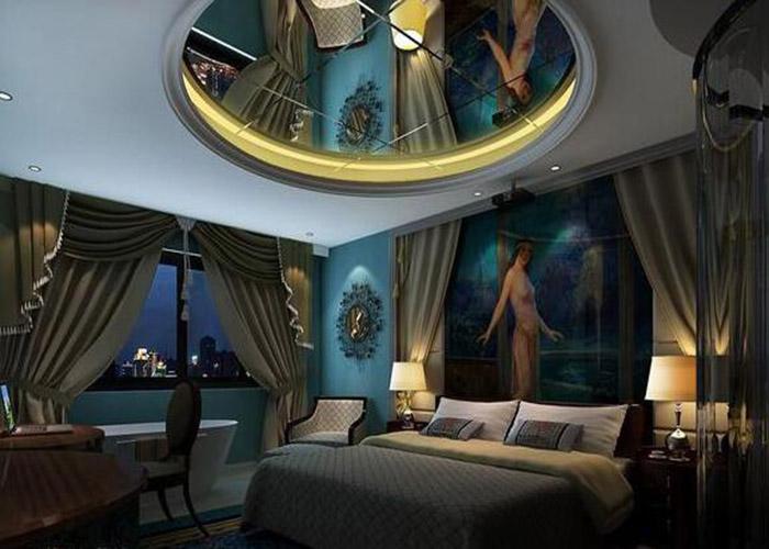 个性电影主题酒店设计的灯光材料的选择事项