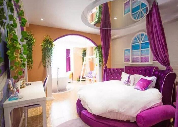 背景墙 房间 家居 酒店 设计 卧室 卧室装修 现代 装修 700_500