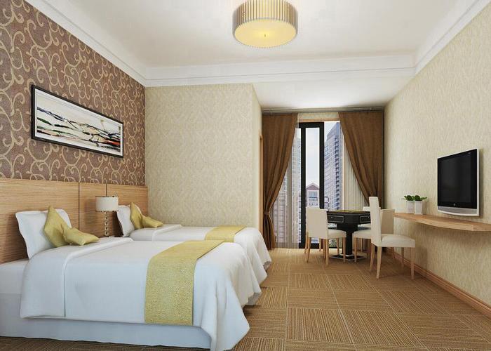快捷酒店裝修_廣州快捷酒店裝修【效果圖|方案|報價】  現在的好多的