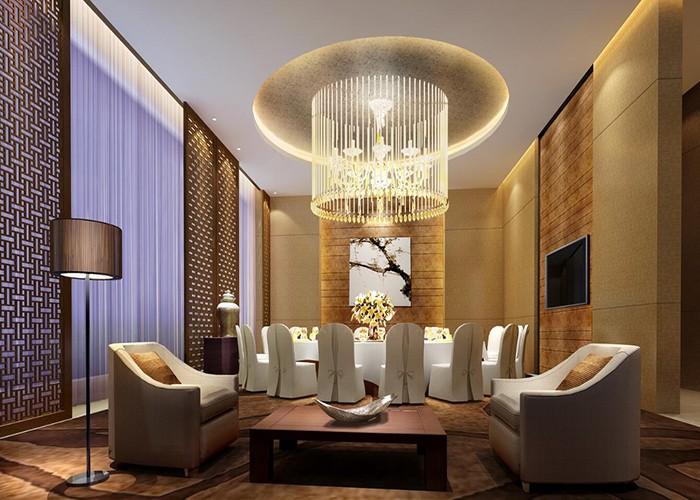 高端精品酒店大堂餐厅设计