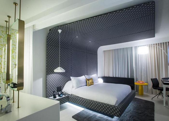 3,精品酒店空间设计窗帘隔音设备的选择