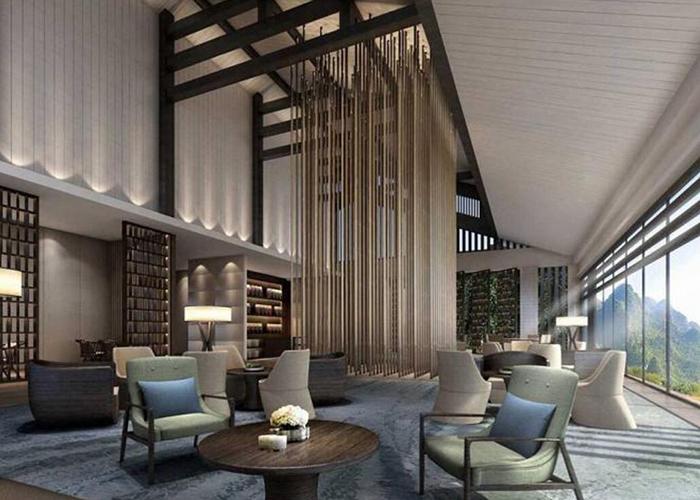度假酒店客房与公共区域装修设计的主要因素