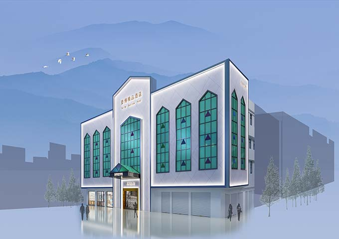 梅州五华华源宾馆设计案例