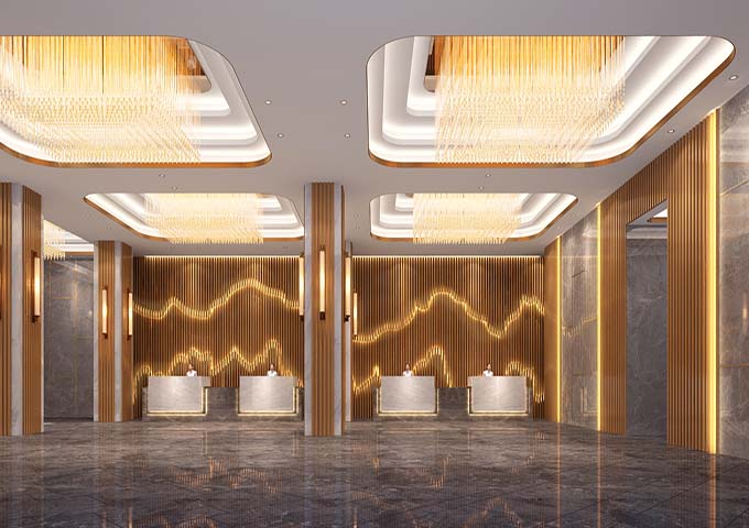 潮阳凯思汀商务酒店装修案例欣赏