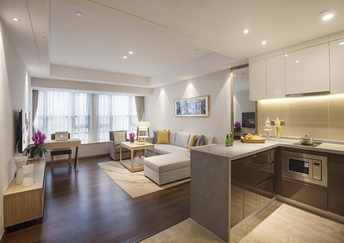 酒店式公寓设计效果图